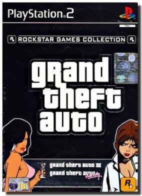 Copertina del gioco Grand Theft Auto Double-Pack per PlayStation 2