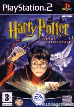 Immagine della copertina del gioco Harry Potter e la pietra filosofale per PlayStation 2