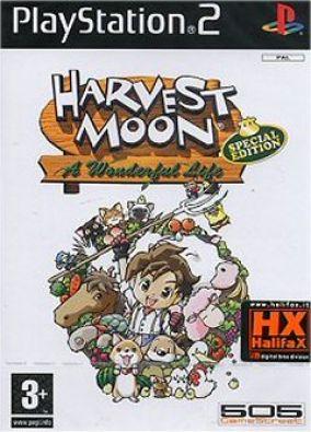 Copertina del gioco Harvest Moon: A Wonderful Life per PlayStation 2