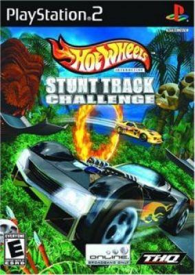 Copertina del gioco Hot Wheels Stunt Track Challenge per PlayStation 2