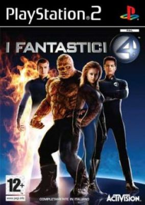 Immagine della copertina del gioco I Fantastici 4 per PlayStation 2