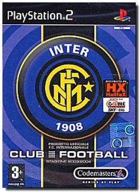Copertina del gioco Club Football: Inter per PlayStation 2