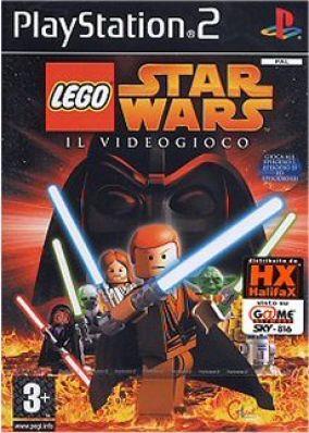 Immagine della copertina del gioco LEGO Star Wars: The Video Game per PlayStation 2