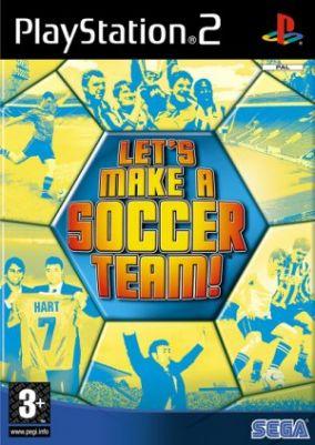 Immagine della copertina del gioco Let's make a soccer team per PlayStation 2