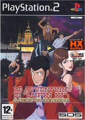 Immagine della copertina del gioco Lupin III : Il Tesoro del Re Stregone per PlayStation 2