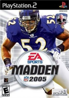 Copertina del gioco Madden NFL 2005 per PlayStation 2