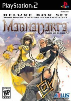 Immagine della copertina del gioco Magna Carta Tears of Blood per PlayStation 2