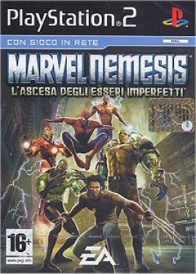 Copertina del gioco Marvel Nemesis: L'ascesa degli esseri imperfetti per PlayStation 2