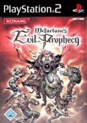 Immagine della copertina del gioco McFarlane's Evil Prophecy per PlayStation 2