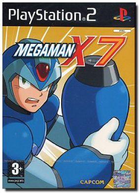 Copertina del gioco Megaman X7 per PlayStation 2