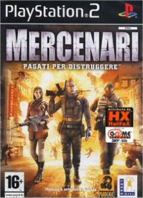 Copertina del gioco Mercenari per PlayStation 2