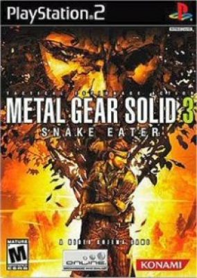 Copertina del gioco Metal Gear Solid 3: Snake Eater per PlayStation 2