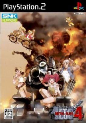 Copertina del gioco Metal Slug 4 per PlayStation 2