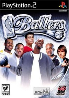 Copertina del gioco NBA Ballers per PlayStation 2