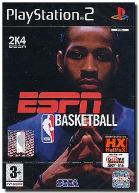 Copertina del gioco ESPN NBA Basketball  per PlayStation 2