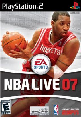 Copertina del gioco NBA Live 07 per PlayStation 2