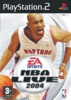 Copertina del gioco NBA Live 2004  per PlayStation 2