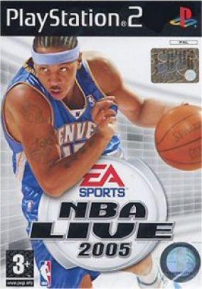 Copertina del gioco NBA Live 2005 per PlayStation 2