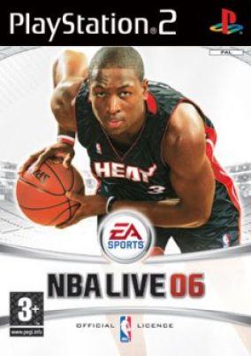 Immagine della copertina del gioco NBA Live 2006 per PlayStation 2