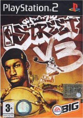 Copertina del gioco NBA Street V3 per PlayStation 2