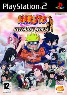 Copertina del gioco Naruto: Ultimate Ninja per PlayStation 2
