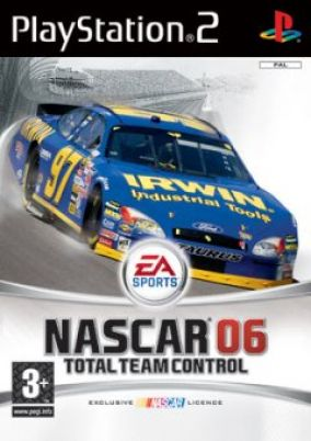 Copertina del gioco Nascar 06: Total Team Control per PlayStation 2