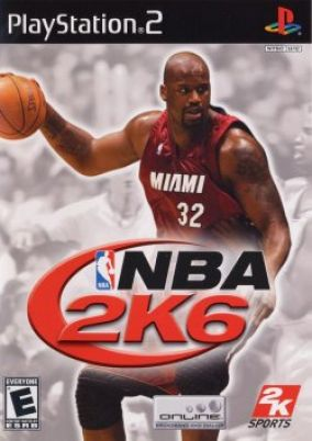 Copertina del gioco NBA 2K6 per PlayStation 2