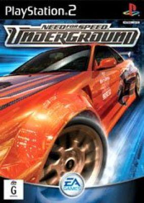 Copertina del gioco Need for Speed Underground per PlayStation 2