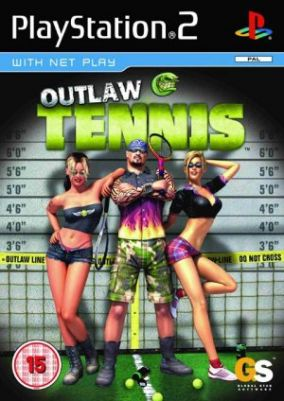 Immagine della copertina del gioco Outlaw Tennis per PlayStation 2