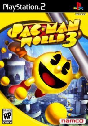 Immagine della copertina del gioco Pac-Man Wolrd 3 per PlayStation 2