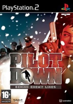 Copertina del gioco Pilot Down: Behind Enemy Lines per PlayStation 2