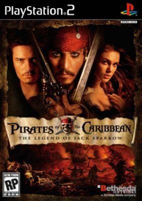 Immagine della copertina del gioco Pirati dei Caraibi: La Leggenda di Jack Sparrow per Playstation 2