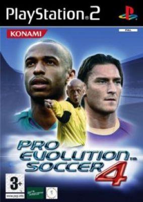 Copertina del gioco Pro Evolution Soccer 4 per PlayStation 2