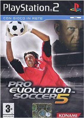 Immagine della copertina del gioco Pro Evolution Soccer 5 per Playstation 2