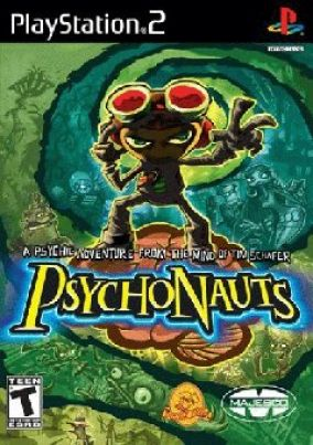 Copertina del gioco Psychonauts per PlayStation 2