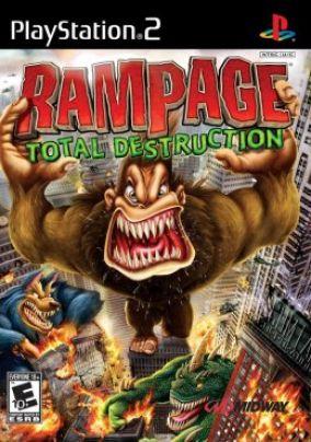 Copertina del gioco Rampage: Total Destruction per PlayStation 2