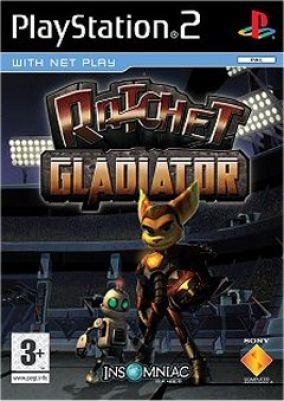 Copertina del gioco Ratchet: Gladiator per PlayStation 2