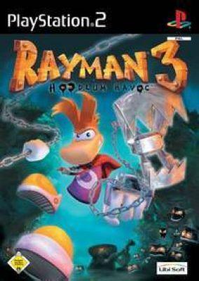 Copertina del gioco Rayman 3: Hoodlum Havoc per PlayStation 2