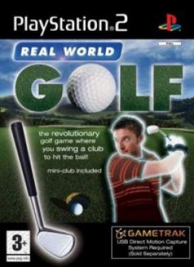Immagine della copertina del gioco Real World Golf per PlayStation 2