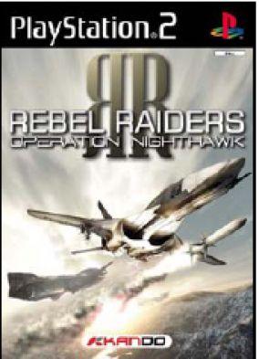 Copertina del gioco Rebel Raiders: Operation Nighthawk per PlayStation 2