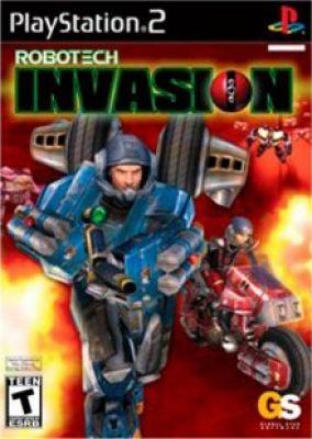 Copertina del gioco Robotech: Invasion per PlayStation 2
