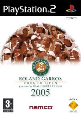 Copertina del gioco Roland Garros 2005 per PlayStation 2