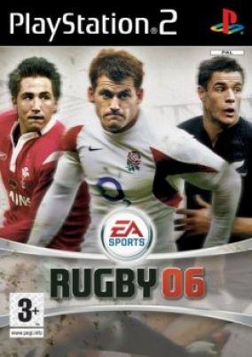Copertina del gioco Rugby 06 per PlayStation 2