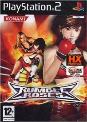 Copertina del gioco Rumble Roses per PlayStation 2