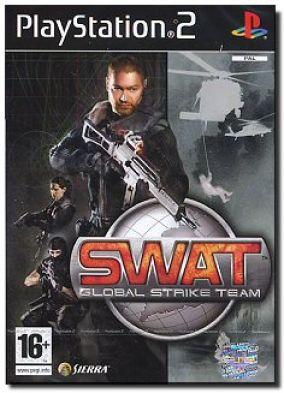 Copertina del gioco SWAT: Global Strike Team per PlayStation 2