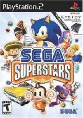 Copertina del gioco Sega Superstars per PlayStation 2