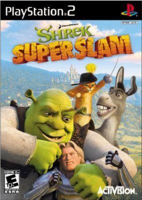 Immagine della copertina del gioco Shrek Super Slam per PlayStation 2