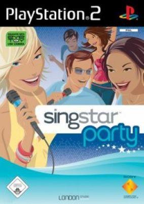 Immagine della copertina del gioco SingStar Party per PlayStation 2