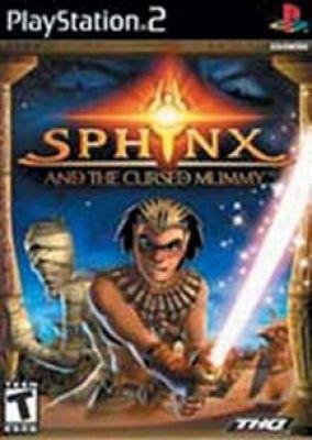Copertina del gioco Sphynx e la Mummia Maledetta per PlayStation 2