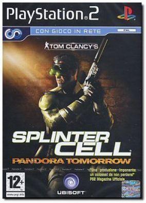 Copertina del gioco Tom Clancy's Splinter Cell Pandora Tomorrow per PlayStation 2
